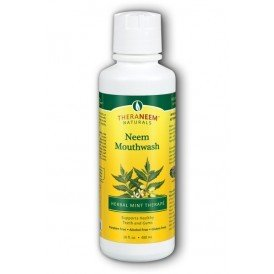 Theraneem Naturals- Neem Mouthwash Herbal Mint Therape