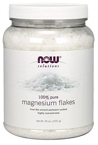 Now Solution- 100% Magnesium Flakes 54oz