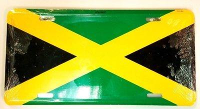 Jamaica License Plate