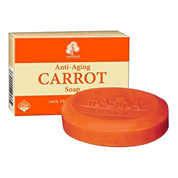 Madina-Anti Aging Carrot Bar Soap