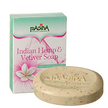 Madina- Indian Hemp Vetiver Bar Soap 3.5 oz