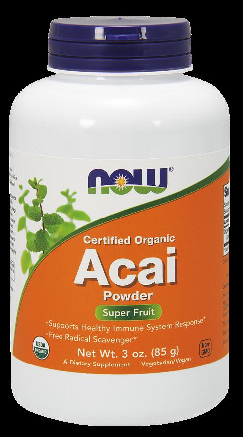 Now-Acai Powder 3 oz.