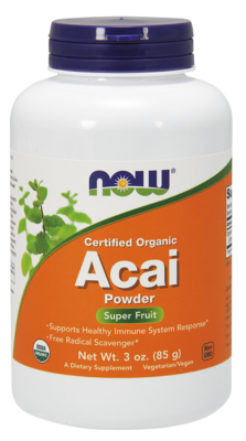 Now-Acai Powder 3 oz.