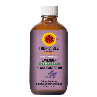 Tropic Isle Living-Lavender Jamaican Black Castor Oil 4oz