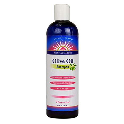 Heritage Store-Olive Oil Shampoo