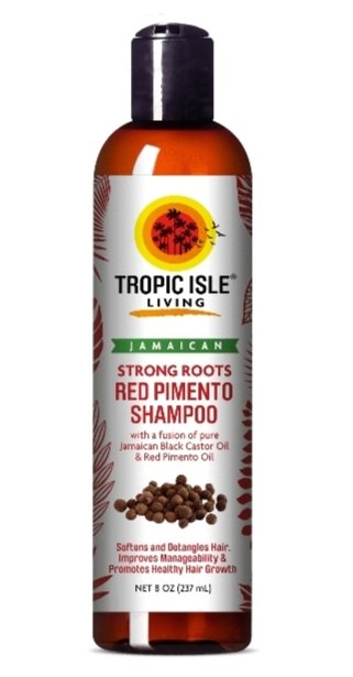 Tropic Isle Living Jamaican Strong Roots Red Pimento Shampoo