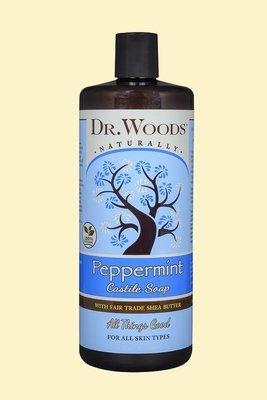 Dr.Woods - Peppermint Castile Soap 32oz
