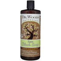 Dr.Woods-Raw Black Soap with Coconut Papaya 32oz