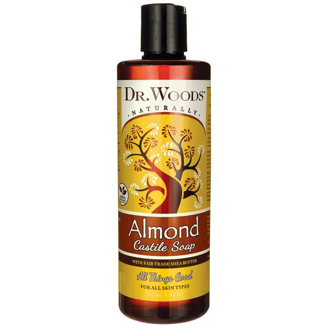 Dr.Woods-Almond Castile Soap With Shea Butter 32oz