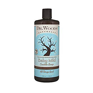 Dr.Woods- Baby Mild Castile Soap with Shea Butter 32oz