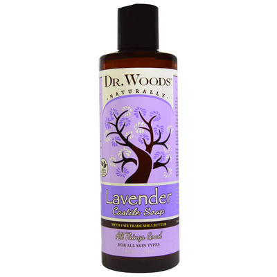 Dr.Woods-Lavender Castile Saop With Shea Butter 32oz