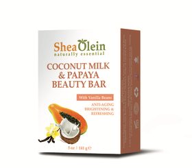 Shea Olein-Coconut Milk & Papaya Beauty Bar