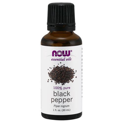 Now Essential Oils-Black Pepper 100% Pure Oil 1 fl.oz