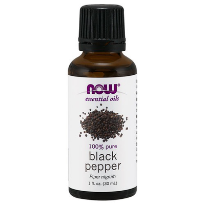 Now Essential Oils-Black Pepper 100% Pure Oil 1 fl.oz