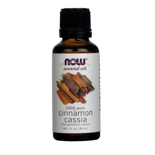 Now Essential Oils - Cinnamon Cassia 100% Pure Oil 1 fl.oz