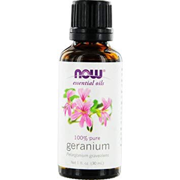 Now Essential Oils - Geranium 100% Pure Oil 1 fl.oz