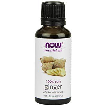 Now Essential Oils - Ginger 100% Pure Oil 1 fl.oz