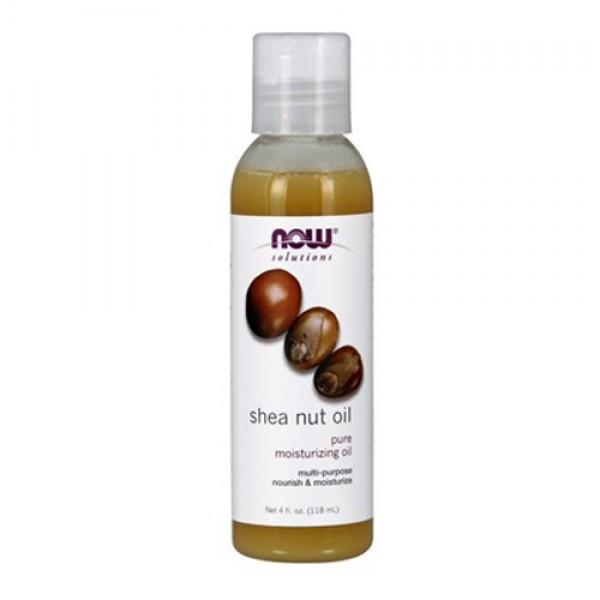 Now Solutions-Shea Nut Oil Pure Moisturizing Oil 4 fl.oz
