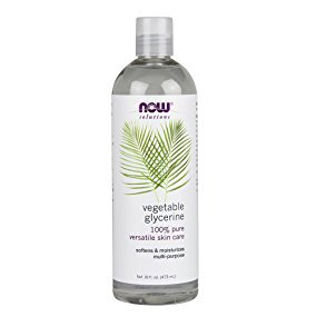 Now Solutions-Vegetable Glycerine 100% Pure Versatile Skin Care 16 fl.oz