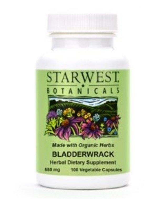 Starwest Botanicals Bladderwrack Capsules 100 Capsules
