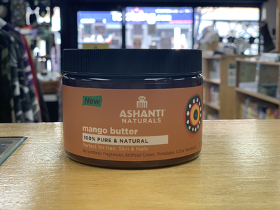 Ashanti Naturals-Mango Butter 100% Pure and Natural 11 fl.oz