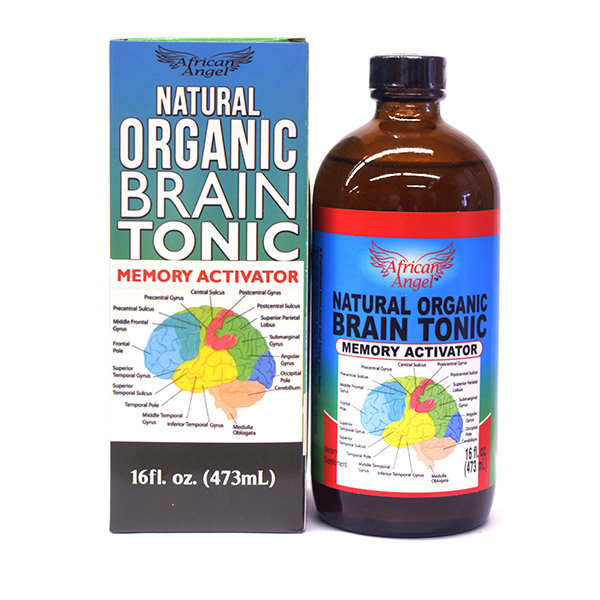 Natural Organic Brain Tonic 16oz