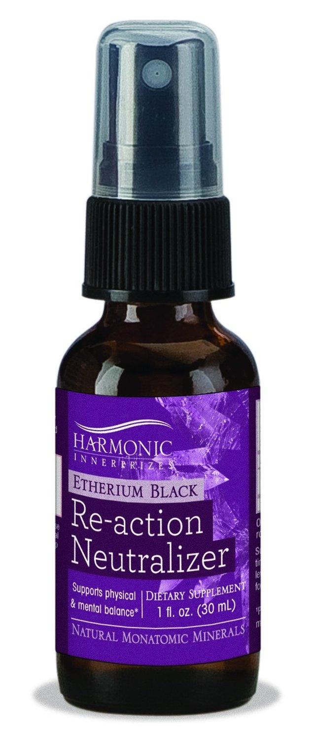 Harmonic Innerprizes Etherium Black, Re-Action Neutralizer Spray