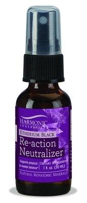 Harmonic Innerprizes Etherium Black, Re-Action Neutralizer Spray