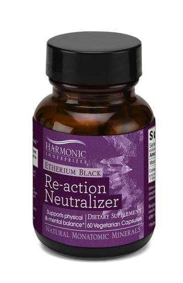 Harmonic Innerprizes Etherium Black Re-action Neutralizer - Natural Monatomic Minerals