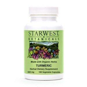 Starwest Botanicals Turmeric Capsules