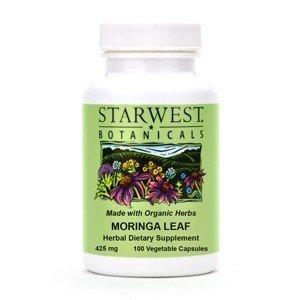 Starwest Botanicals Moringa Leaf Capsules