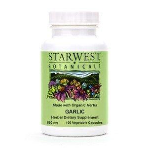 Starwest Botanicals Garlic Capsules