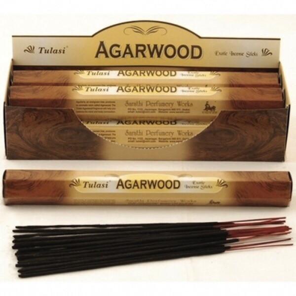Tulasi Agarwood Incense pack- 20 Sticks