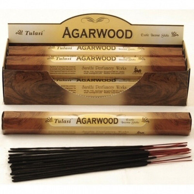 Tulasi Agarwood Incense pack- 20 Sticks