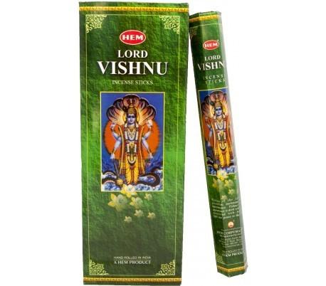 Hem Incense- Lord Vishnu (6 Packs of 20 Sticks)