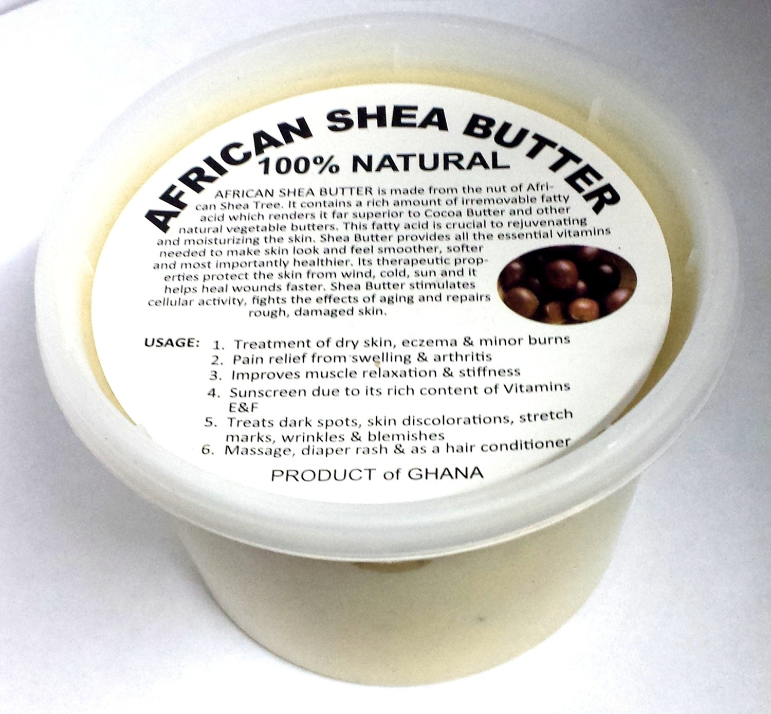 Raw African Shea Butter - 16 oz