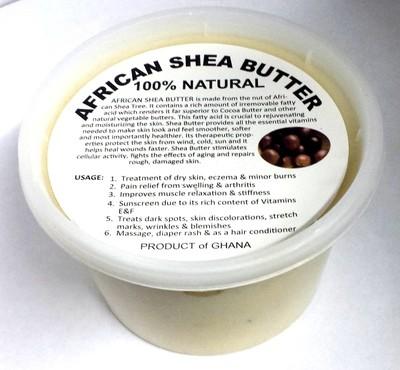 Raw White African Shea Butter - 16 oz