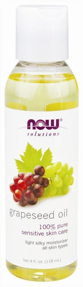 Now Grapeseed Oil - 4 oz