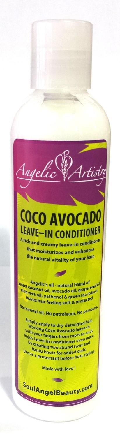Angelic Artistry - CoCo Avocado Leave-In Conditioner 8oz