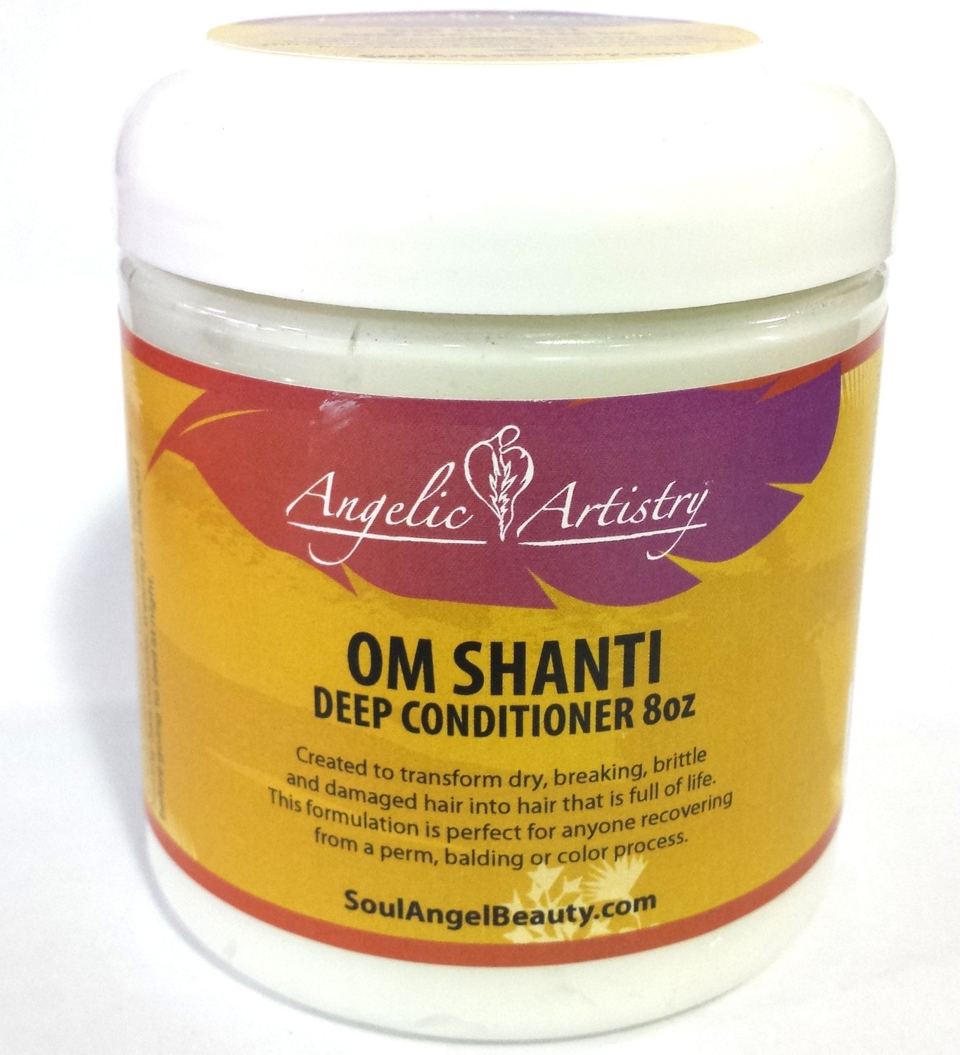 Angelic Artistry Om Shanti Deep Conditioner 8oz