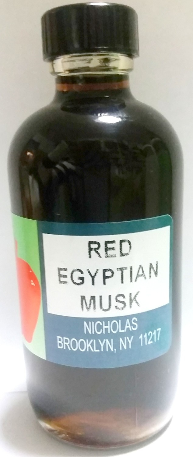 Red Egyptian Musk Oil