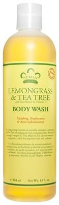 Nubian Heritage Lemongrass & Tea Tree Body Wash 13oz