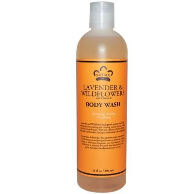 Nubian Heritage Lavender & Wildflowers Body Wash 13oz