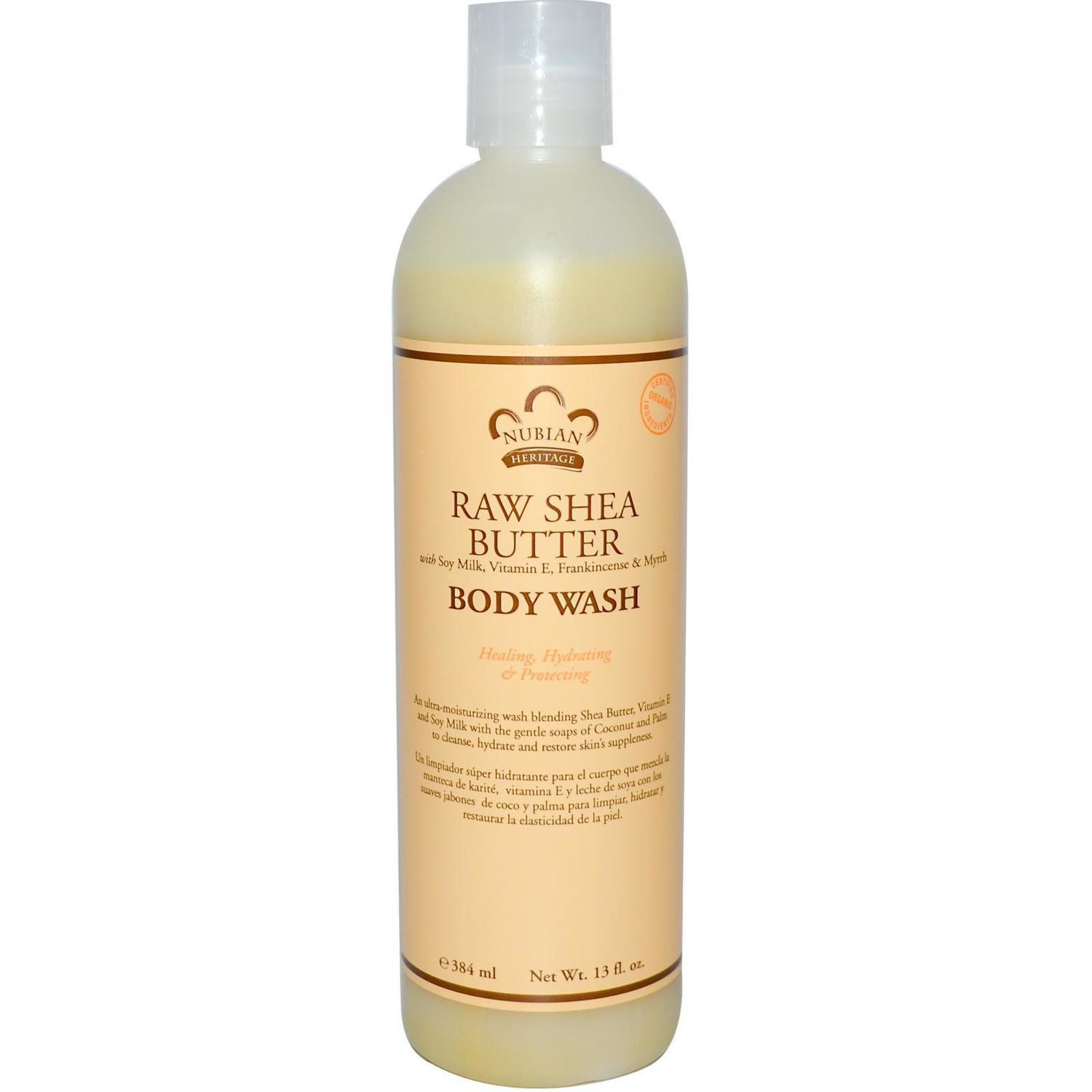 Nubian Heritage Raw Shea Butter Body Wash 13oz