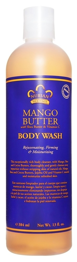 Nubian Heritage Mango Butter Body Wash 13oz