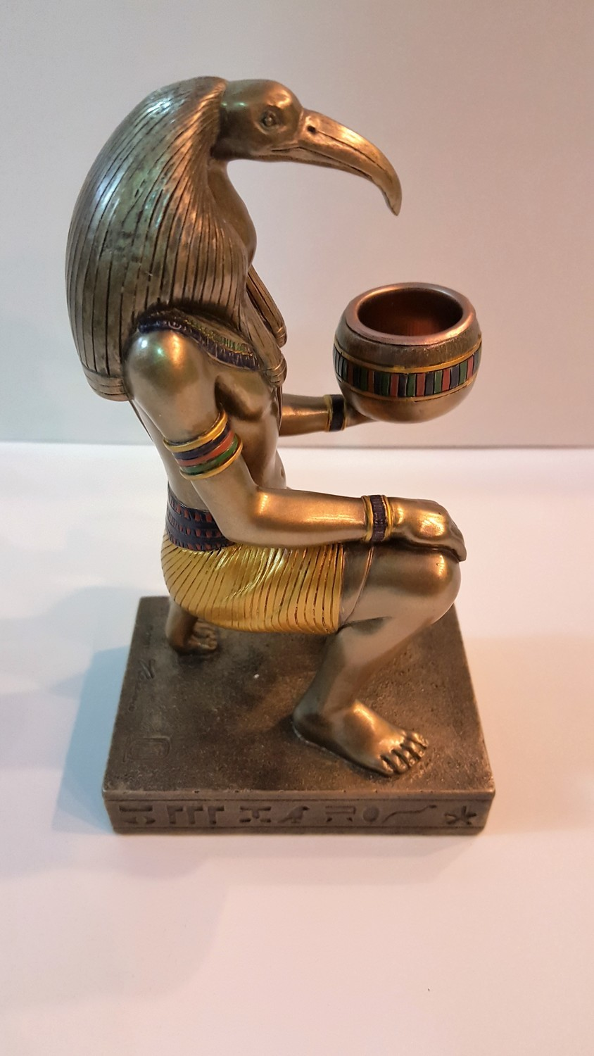 Tehuti (by the Egyptians) aka Thot Candle Holder