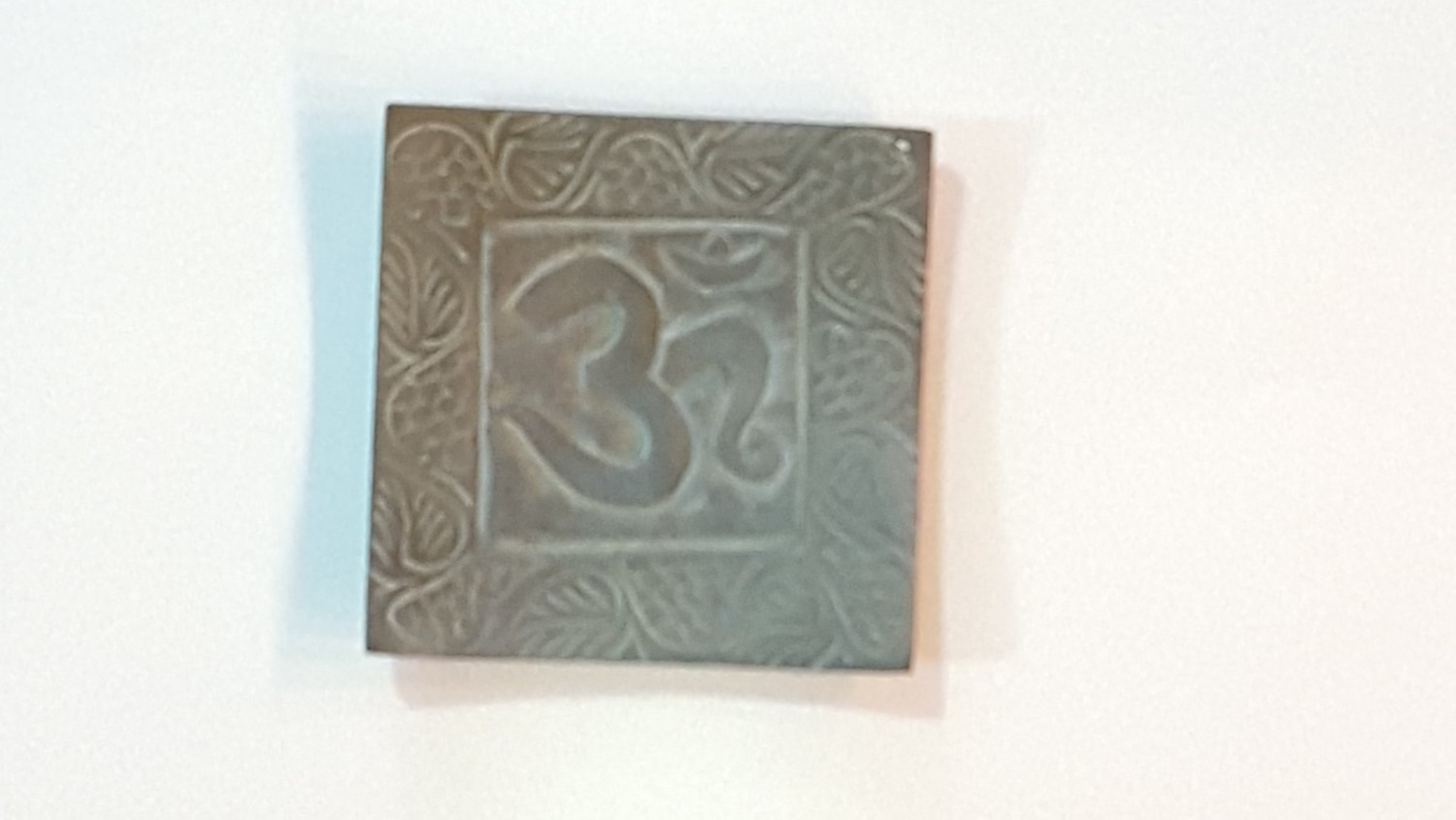 Square Indian Design Incense Holder