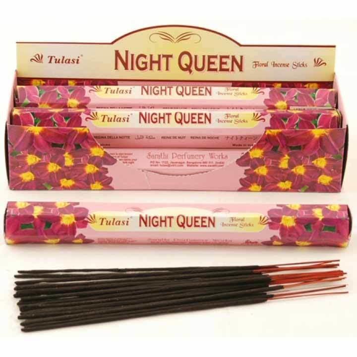 Tulasi Night Queen Incense Pack - 20 sticks