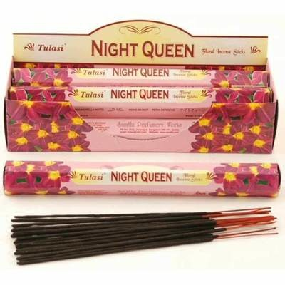 Tulasi Night Queen Incense Pack - 20 sticks