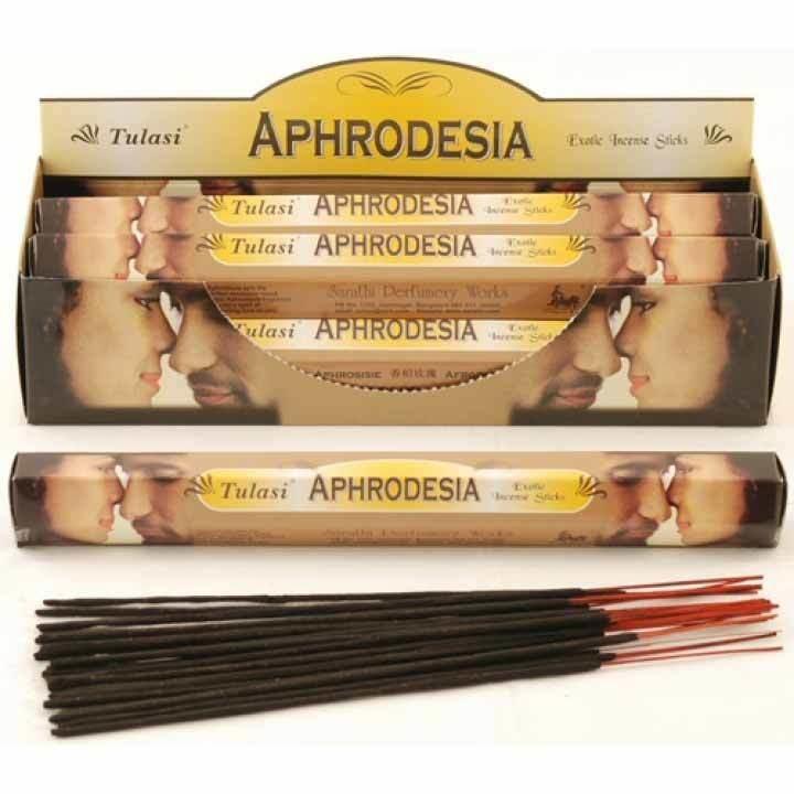 Tulasi Aphrodesia Incense Pack - 20 sticks